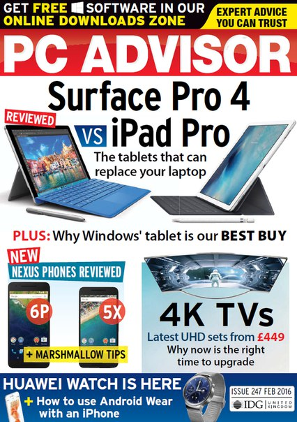 Download PC Advisor - February 2016