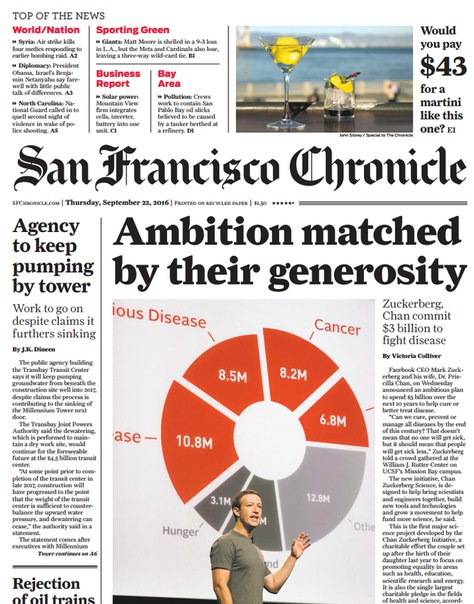 Download San Francisco Chronicle September 22 2016