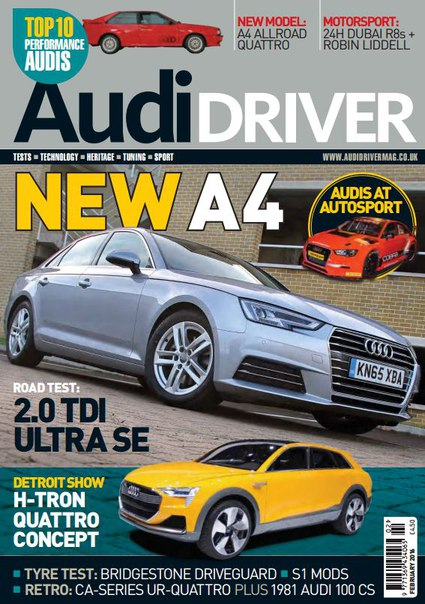 Download Audi Driver - February 2016