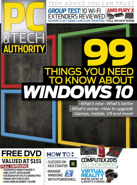 Download PC & Tech Authority - August 2015 AU