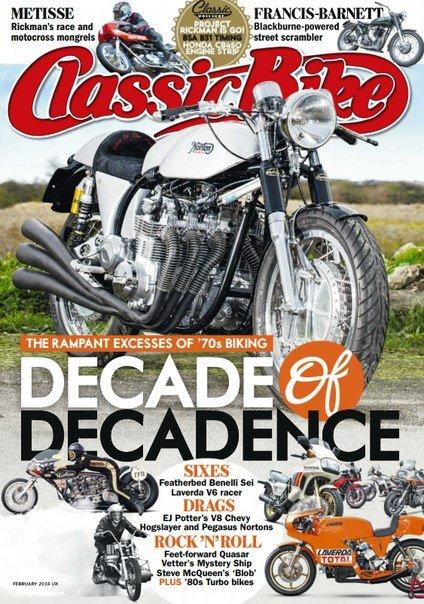 Classic Bike – February 2016