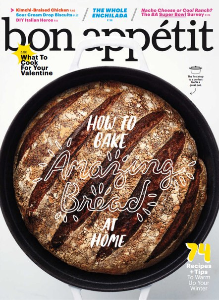 Download Bon Appetit - February 2016