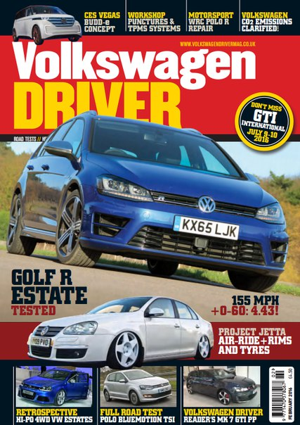 Download Volkswagen Driver - February 2016
