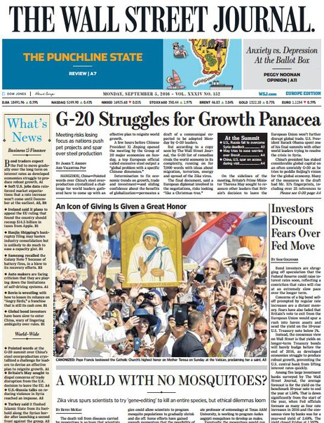 Download The Wall Street Journal Europe September 05 2016