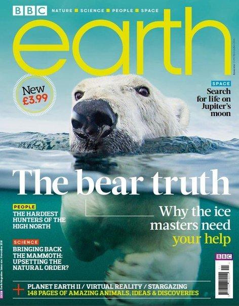 Download BBC Earth UK - November 2016