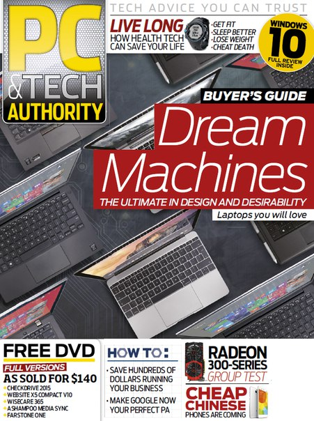 Download PC & Tech Authority - September 2015 AU