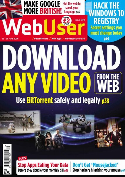 Download WebUser Issue 399 - 15 June 2016