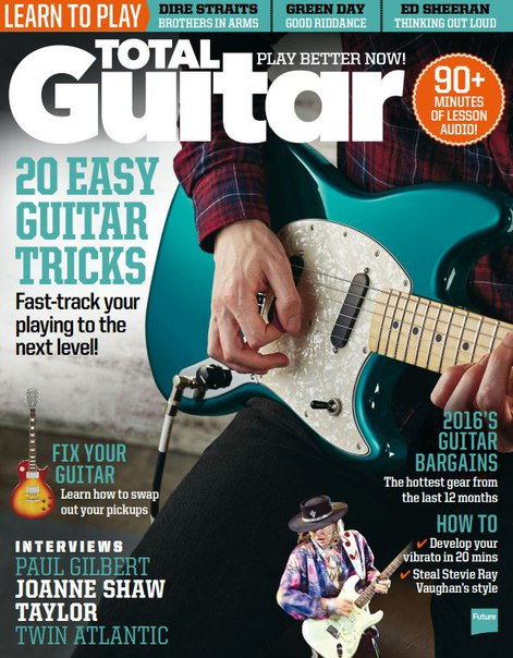 Download Total Guitar – January 2017