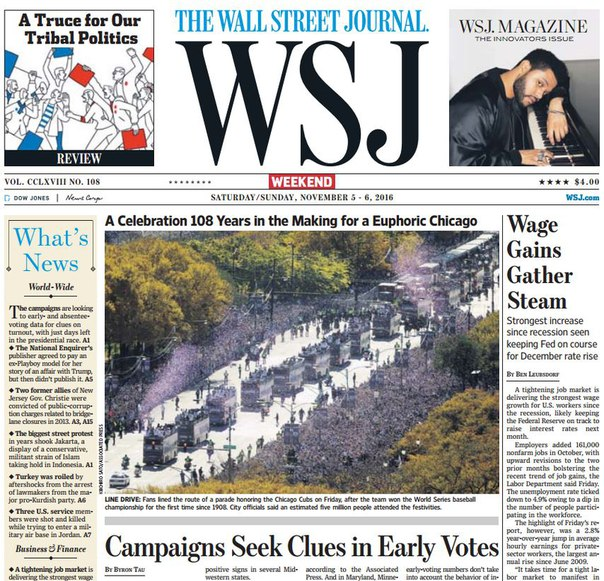 Download wallstreetjournal 20161105 The Wall Street Journal