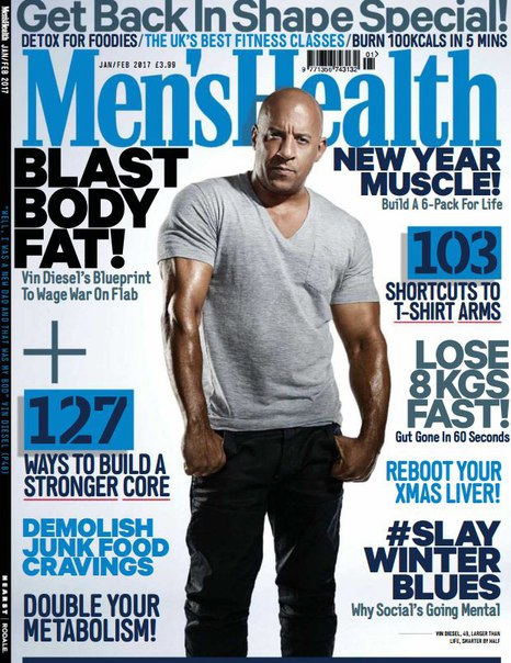 Download Men's Health - February 2017 UK