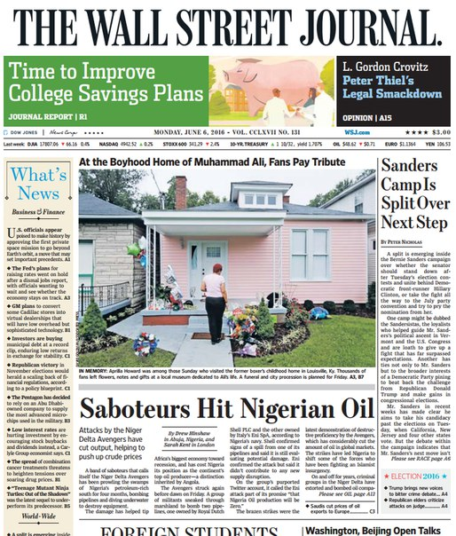 Download The Wall Street Journal June 06 2016
