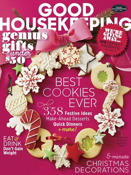 Download Good Housekeeping USA – December 2016