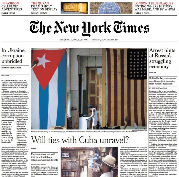 Download International New York Times - 17 November 2016