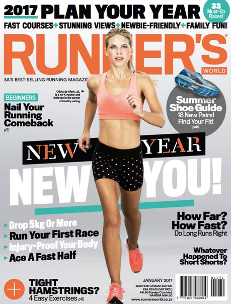 Download Runner's World South Africa – January 2017
