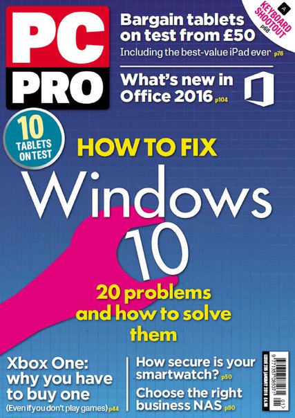 Download PC Pro - January 2016