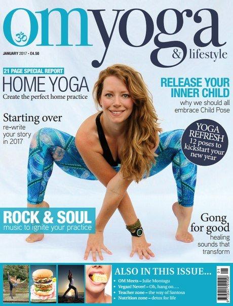 Download OM Yoga UK - January 2017