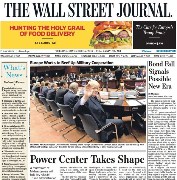 Download The Wall Street Journal Europe November 15 2016