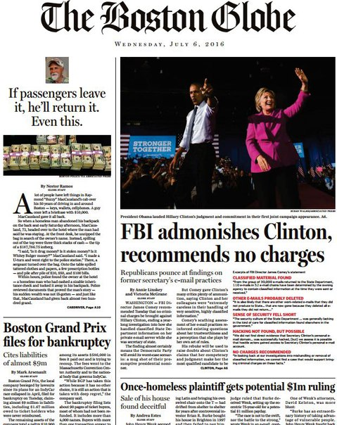 Download The Boston Globe July 06 2016