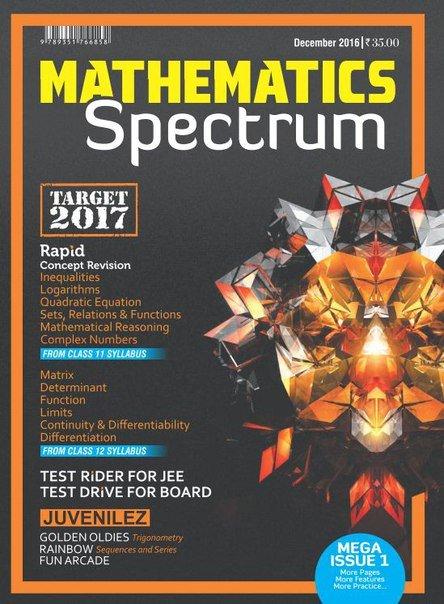 Spectrum Mathematics - December 2016 PDF download free