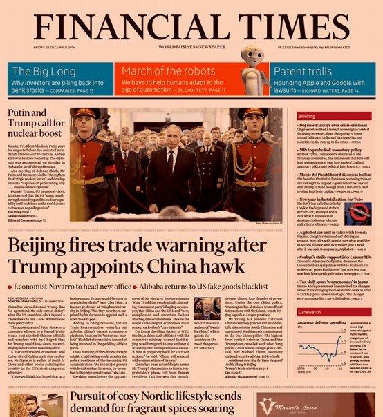 Download Financial Times (UK), Friday, December 23, 2016