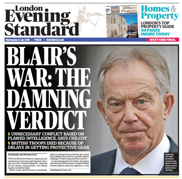 Download London Evening Standard - 6 July 2016