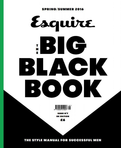 Download Esquire The Big Black Book - Summer 2016