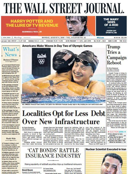 Download The Wall Street Journal August 08 2016
