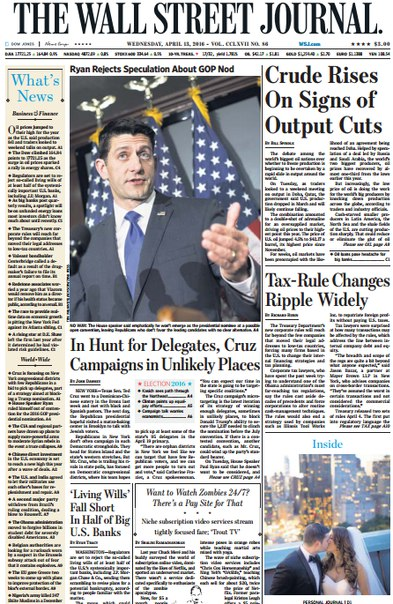 Download The Wall Street Journal April 13 2016