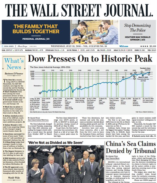 Download The Wall Street Journal July 13 2016