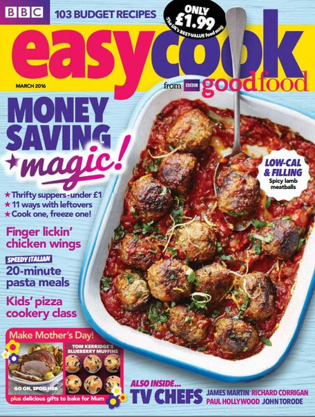 Download BBC Easy Cook - March 2016