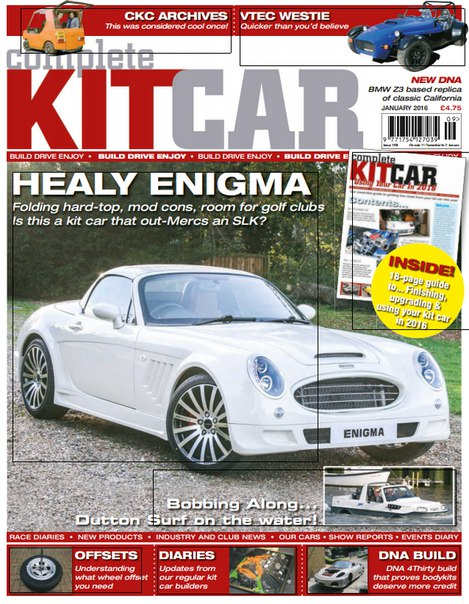 Download Complete Kit Car - January 2016