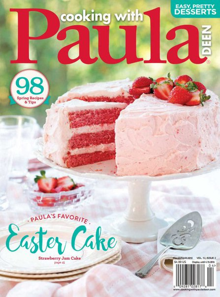 Download Cooking with Paula Deen - April 2016