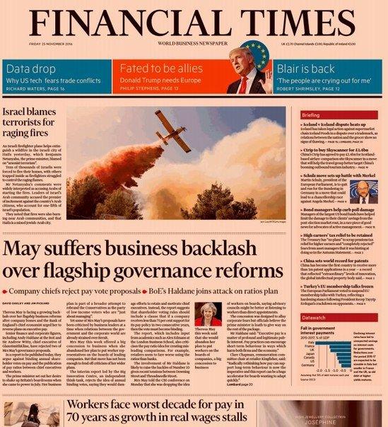 Download Financial Times (UK), Friday, November 25, 2016