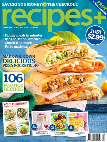 Download recipes+ - February 2016