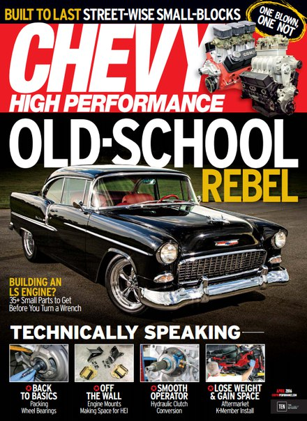 Download Chevy High Performance - April 2016