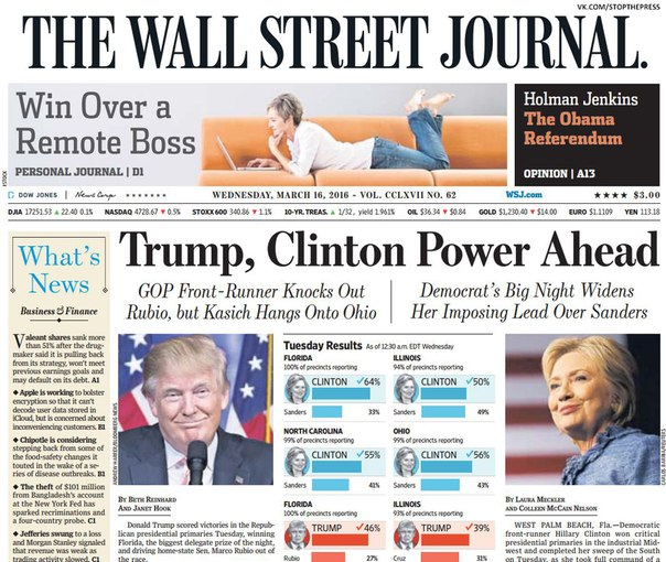 Download The Wall Street Journal March 16 2016