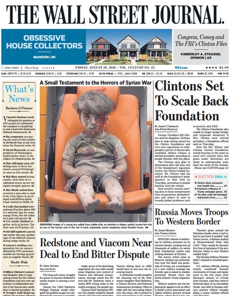 Download The Wall Street Journal August 19 2016