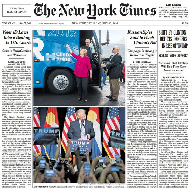 Download The New York Times July 30 2016