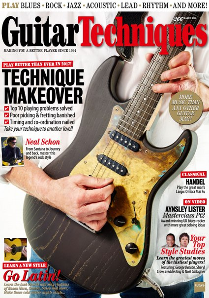 Download Guitar Techniques - March 2017