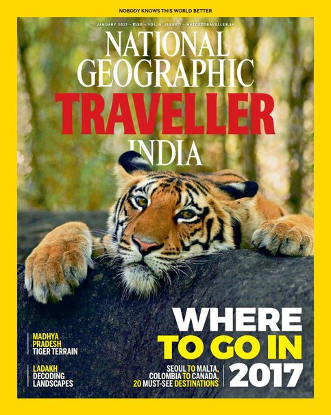 Download National Geographic Traveller India – January 2017
