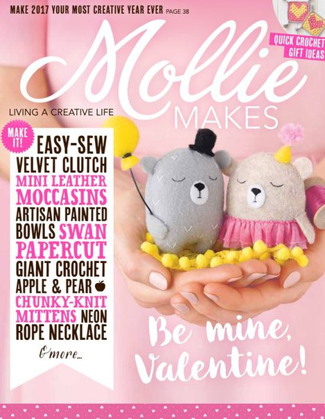 Download Mollie Makes – Issue 75 2017