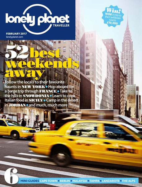 Download Lonely Planet Traveller UK – February 2017