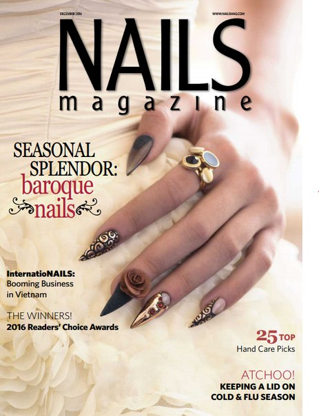 Nails Magazine December 2016 Usa