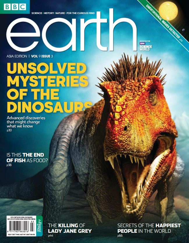 Download BBC Earth Singapore March 2017