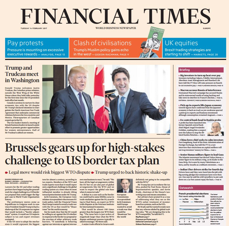 Download Financial Times Europe 14 February 2017