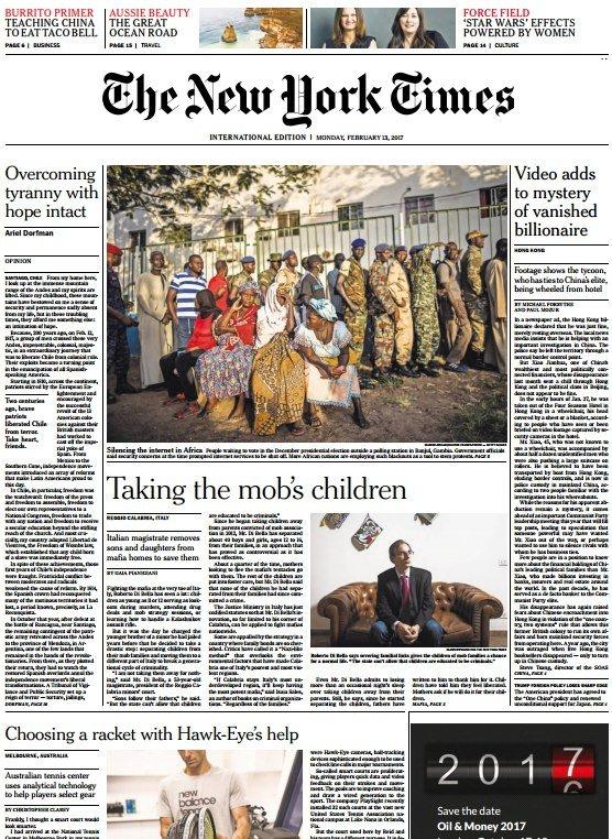 Download International New York Times 13 February 2017