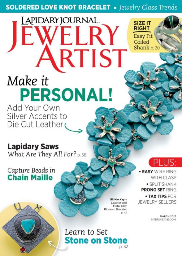 Lapidary Journal Jewelry Artist March 2017 PDF download free