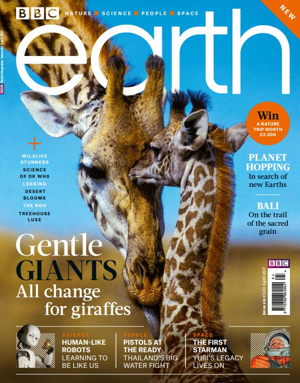 Download BBC Earth UK Issue 6 April 2017