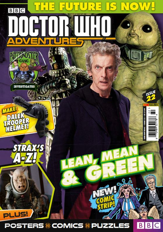 Doctor Who Adventures Magazine Issue 22 2017 Pdf Download Free