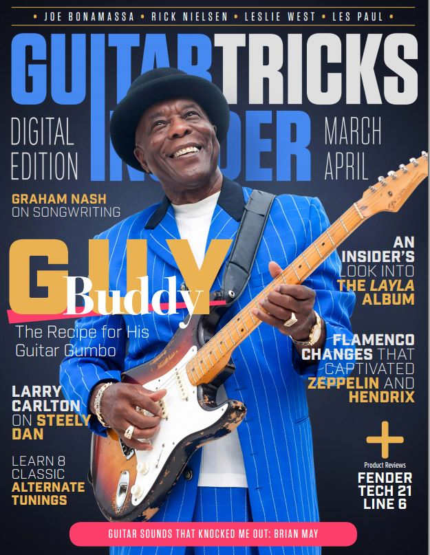 Guitar Tricks Insider MarchApril 2017